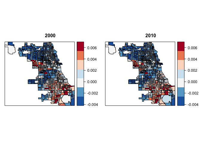 Mapping Racial Segregation In Chicago  Rbloggers